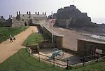 Elizabeth Castle St Helier Jersey The Channel islands UK 2000s