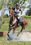 11 July 2009: Colin Davidson riding Draco during the cross country phase of the CIC 3* Maui Jim Horse Trials at Lamplight Equestrian Center in Wayne, Illinois.