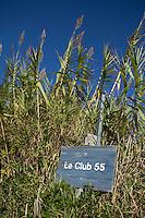 Club 55 on Pampelonne Beach, Ramatuelle, near Saint Tropez, France, 16 October 2013