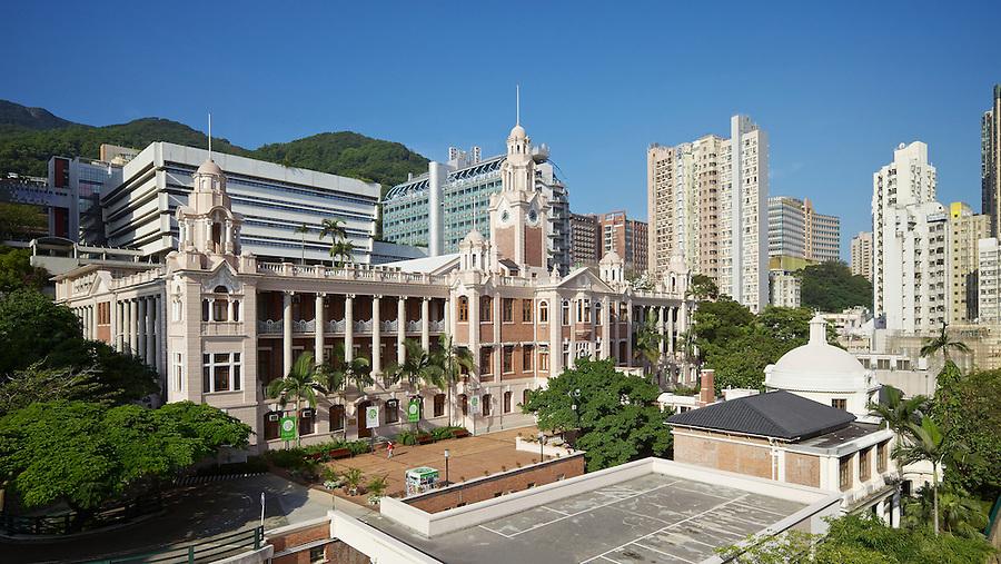 Main Building, University of Hong Kong.