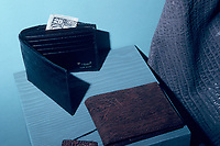 shark skin billholds or wallets