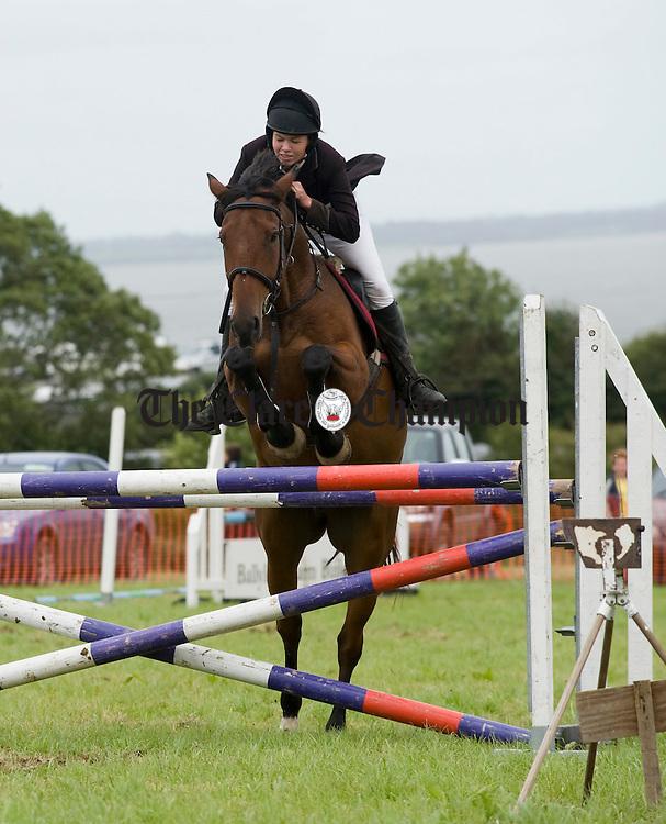 Ciara Daffy of Ruan in action at Kildysart Show. Photograph by John Kelly.