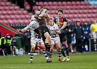 26th December 2020; Twickenham Stoop, London, England; English Premiership Rugby, Harlequins versus Bristol Bears; Semi Radradra of Bristol Bears contesting a high ball from start of the second half play