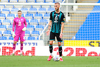 Mike van der Hoorn of Swansea City in action during the Sky Bet Championship match between Reading and Swansea City at the Madejski Stadium in Reading, England, UK. Wednesday 22 July 2020.