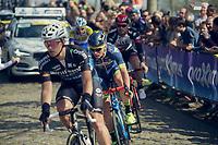 Mark McNally (GBR/Wanty-Groupe Gobert) is part of the early breakaway<br /> <br /> 101th Ronde Van Vlaanderen 2017 (1.UWT)<br /> 1day race: Antwerp › Oudenaarde - BEL (260km)