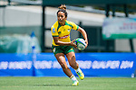 Brazil vs Portugal during the Day 1 of the IRB Women's Sevens Qualifier 2014 at the Skek Kip Mei Stadium on September 12, 2014 in Hong Kong, China. Photo by Aitor Alcalde / Power Sport Images