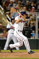 Fort Myers Miracle outfielder Lance Ray #15 during a game against the Jupiter Hammerheads on April 9, 2013 at Hammond Stadium in Fort Myers, Florida.  Fort Myers defeated Jupiter 1-0.  (Mike Janes/Four Seam Images)