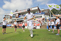 Alastair Cook runs out to bat for England - Essex CCC vs England - LV Challenge Match at the Essex County Ground, Chelmsford - 30/06/13 - MANDATORY CREDIT: Gavin Ellis/TGSPHOTO - Self billing applies where appropriate - 0845 094 6026 - contact@tgsphoto.co.uk - NO UNPAID USE