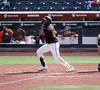 Luis Alexander Basabe - San Francisco Giants 2021 spring training (Bill Mitchell)