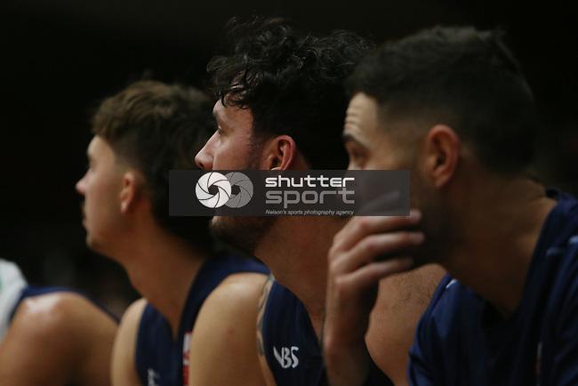 NELSON, NEW ZEALAND -APRIL 25: Nelson Giants v Southland Sharks Monday 26  April 2021,Trafalgar Centre ,Nelson New Zealand. (Photo by Evan Barnes Shuttersport Limited)