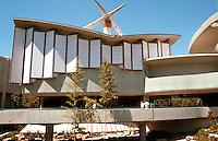 Bruce Goff: Japanese Pavilion, LACMA 1989.   Photo '89.
