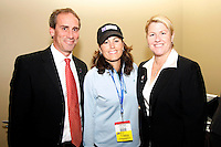 Jim Gabarra- Julie Foudy -Mary Harvey.WPS draft 2009-St Louis Convention and Visitors Center, St Louis, MO January 16 2006