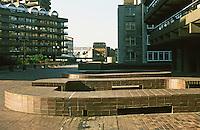 London:  Barbican--Sculptural elements.