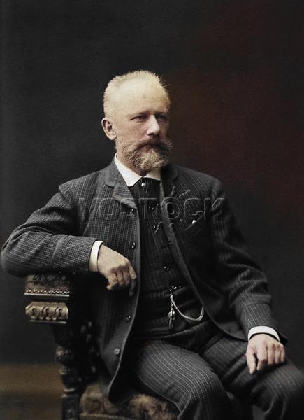 Русский композитор Петр Ильич Чайковский, 1987 год / Russian composer Pyotr Ilyich Tchaikovsky, 1887
