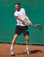 2013-08-17, Netherlands, Raalte,  TV Ramele, Tennis, NRTK 2013, National Ranking Tennis Champ, David de Goede<br /> <br /> Photo: Henk Koster