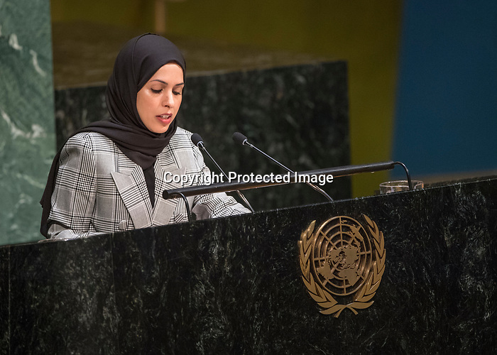 GA 72<br /> High-level meeting of the General Assembly on the appraisal of the United Nations Global Plan of Action to Combat Trafficking in Persons <br /> <br /> Qatar