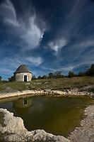 Europe/France/Midi-Pyrénées/46/Lot/ Env de Livernon: Lac de Lacam  et caselle