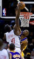 Bobcats vs. Lakers 2/11/08