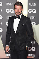 LONDON, UK. September 03, 2019: David Beckham arriving for the GQ Men of the Year Awards 2019 in association with Hugo Boss at the Tate Modern, London.<br /> Picture: Steve Vas/Featureflash