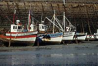 Europe/France/Bretagne/22/Côtes d'Armor/Erquy: Bateaux de pêche sur le port