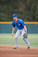 Toronto Blue Jays Nash Knight (31) during an Instructional League game against the Pittsburgh Pirates on October 13, 2017 at Pirate City in Bradenton, Florida.  (Mike Janes/Four Seam Images)