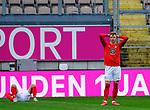 Fussball - 3.Bundesliga - Saison 2020/21<br /> Kaiserslautern -  Fritz-Walter-Stadion 07.04.2021<br /> 1. FC Kaiserslautern (fck)  - FSV Zwickau (zwi) 2:2<br /> Philipp HERCHER (1. FC Kaiserslautern)    ist enttäuscht<br /> <br /> Foto © PIX-Sportfotos *** Foto ist honorarpflichtig! *** Auf Anfrage in hoeherer Qualitaet/Aufloesung. Belegexemplar erbeten. Veroeffentlichung ausschliesslich fuer journalistisch-publizistische Zwecke. For editorial use only. DFL regulations prohibit any use of photographs as image sequences and/or quasi-video.