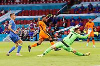AMSTERDAM, 13-06-2021 Johan Cruyff Arena, Group stage of EURO2020 between Netherlands and Ukraine. Netherlands player Georginio Wijnaldum scoring the 1-0<br /> Photo Pro Shots / Insidefoto <br /> ITALY ONLY