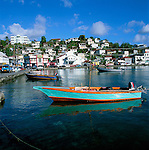 Karibik, Kleine Antillen, Grenada St. Georges: Carenage Hafen | Caribbean, Lesser Antilles, Grenada, St. Georges: Carenage Harbour