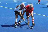 North Harbour Mens 65 v Canterbury Baa Baa Mens 65. 2020 National Masters Hockey Tournament at Nga Puna Wai Sports Hub in Christchurch, New Zealand on Sunday, 23 February 2020. Photo: Simon Watts / bwmedia.co.nz