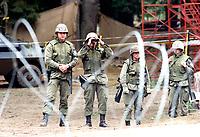 La crise d'Oka : les soldats canadiens<br /> <br /> PHOTO : Agence Quebec Presse - Shaney Komulainen