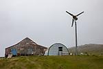 Farm With Wind Turbine
