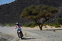 6th January 2021; Wadi Al Dawasir to Riyadh, Saudia Arabia; Dakar 2021 Rally, stage 4;  #24 Buhler Sebastian (ger), Hero, Hero Motorsports Team Rally, Motul, Moto, Bike, action during the 4th stage of the Dakar 2021 between Wadi Al Dawasir and Riyadh, in Saudi Arabia on January 6, 2021