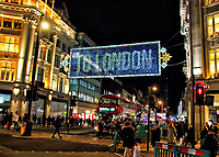 NOV 4  Oxford Street Christmas Lights
