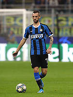 Football Soccer: UEFA Champions League -Group Stage- Group F Internazionale Milano vs Borussia Dortmund, Giuseppe Meazza stadium, October 23, 2019.<br /> Marcelo Brozovic in action during the Uefa Champions League football match between Internazionale Milano and Borussia Dortmund at Giuseppe Meazza (San Siro) stadium, on October 23, 2019.<br /> UPDATE IMAGES PRESS/Isabella Bonotto