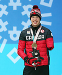 Mark Arendz, PyeongChang 2018 - Para Nordic Skiing // Ski paranordique.<br /> Mark Arendz collects his bronze medal // Mark Arendz remporte sa médaille de bronzer. 14/03/2018.
