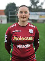 20130824 - Zulte , Belgium :  Liselore Carlier , Saturday 24 August 2013. Teampictures <br /> PHOTO DAVID CATRY / Nikonpro.be