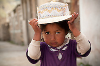 The Colca Valley is home to the Cabana - quechua or valley people and the Collagua - highland people.  Each ethnic group wears a distinct type of hat identifying their heritage. The women of the Colca Valley are skillful weavers and embroiderers. Female garments are worn with great pride, as each woven piece is a costly work of art. .