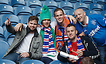 Rangers fans before the match