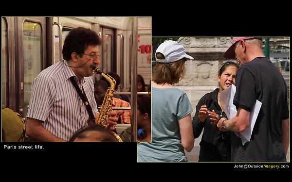 ring scam, sax player, Paris,
