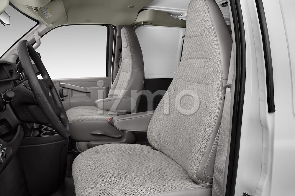 Front seat view of 2018 GMC Savana-Cargo Work-Van-2500 4 Door Cargo Van Front Seat  car photos