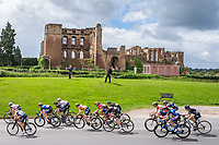 Picture by Alex Whitehead/SWpix.com - 09/06/2017 - Cycling - OVO Energy Women's Tour - Stage 3: Atherstone to Royal Leamington Spa - Kenilworth Castle.