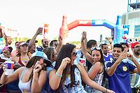 Foxborough, MA - Saturday June 18, 2016: Fans, Sponsor prior to a Copa America Centenario quarterfinal match between Argentina (ARG) and Venezuela (VEN)  at Gillette Stadium.