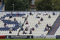 The Sussex supporters sat in the stand social distancing during Sussex CCC vs Glamorgan CCC, LV Insurance County Championship Group 3 Cricket at The 1st Central County Ground on 5th July 2021