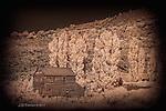 Nielsen Grist Mill, near Bicknell, Utah (Infrared)