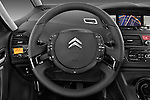 Steering wheel view of a 2010 Citroen GRAND C4 PICASSO Millenium 5 Door Minivan 2WD