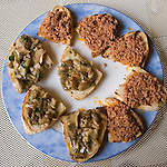 Appetizer, Mastro Cilegia Restaurant, Florence, Tuscany, Italy