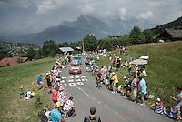 Adam Hansen (AUS/Lotto-Soudal)<br /> <br /> Stage 18 (ITT) - Sallanches › Megève (17km)<br /> 103rd Tour de France 2016