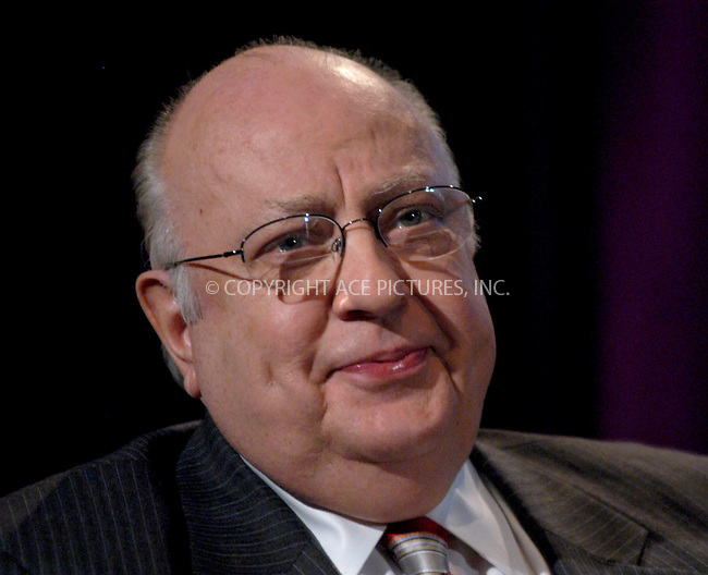 WWW.ACEPIXS.COM . . . . . ....NEW YORK, FEBRUARY 22, 2006....Roger Ailes at a press conference for the launch of Fox's 'My Network TV' held at the W Hotel.....Please byline: KRISTIN CALLAHAN - ACEPIXS.COM.. . . . . . ..Ace Pictures, Inc:  ..Philip Vaughan (212) 243-8787 or (646) 679 0430..e-mail: info@acepixs.com..web: http://www.acepixs.com
