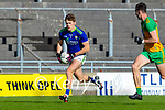 Gavin White, Kerry in action against Michael Langan, Donegal during the Allianz Football League Division 1 Round 7 match between Kerry and Donegal at Austin Stack Park in Tralee on Saturday.
