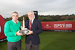 ISPS Handa Wales Open Announcement at the Celtic Manor Resort..Former champion Paul McGinley and honorary Captain Gareth Edwards. .28.11.11.©Steve Pope